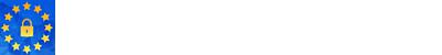 Uskladite poslovanje z EU GDPR uredbo. Logo